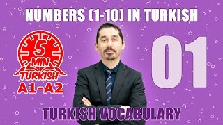 A1/A2 Numbers (1-10) in Turkish - Turkish Vocabulary - Sayılar (1-10)