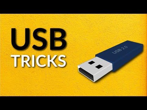Top 5 USB Flash Drive HACKS