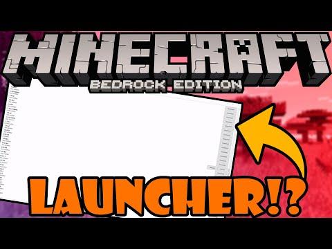 A Minecraft Windows 10 Edition Launcher?!
