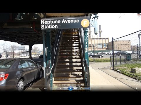 IND Culver Line: Neptune Avenue (R46 and R160 F trains)