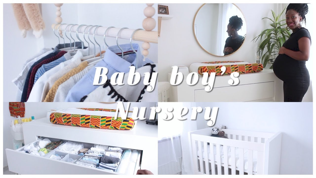 Nursery Room Tour African Print