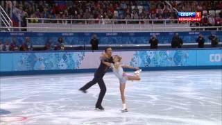 Максим Траньков и Татьяна Волосожар, Сочи, 2014, HD