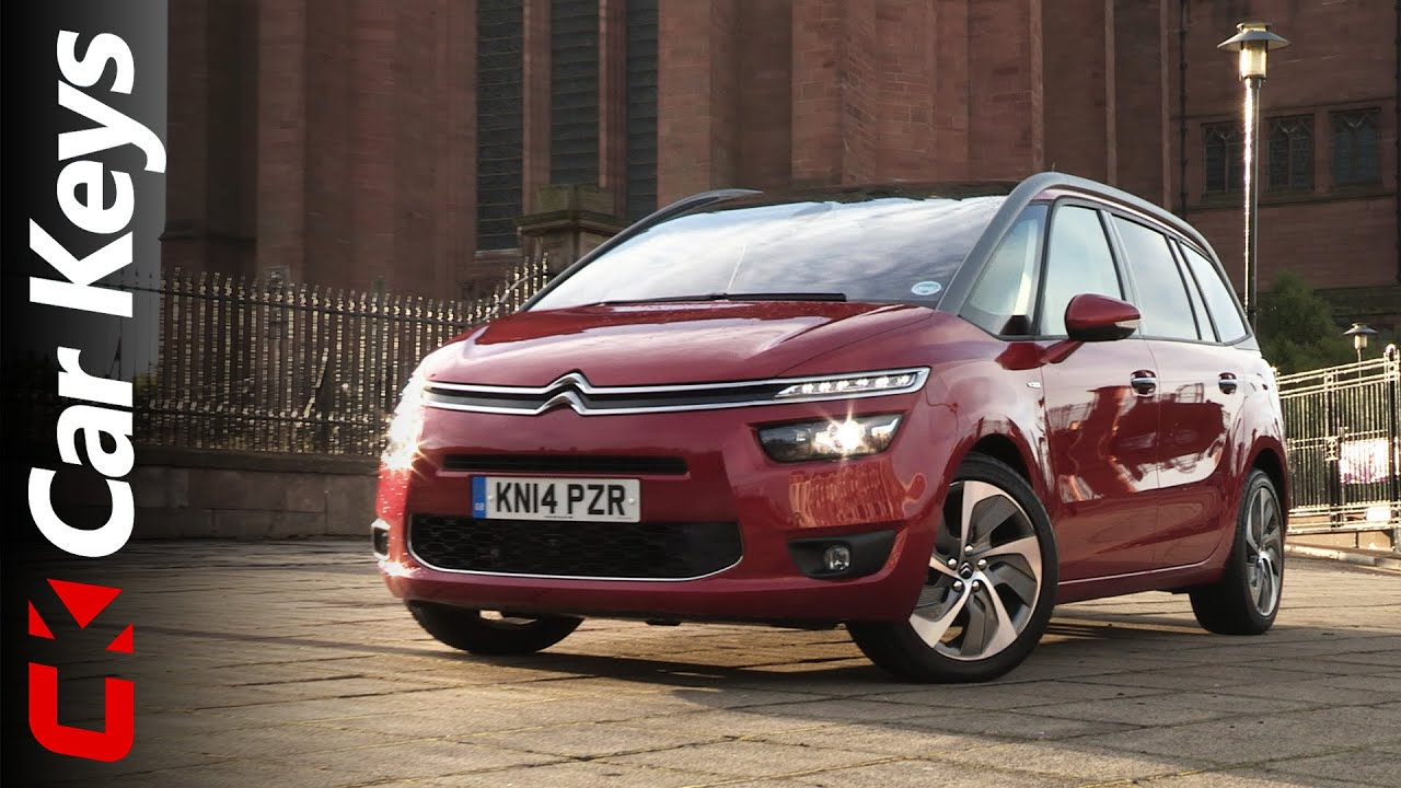 citroen grand c4 picasso 2014 review car keys youtube. Black Bedroom Furniture Sets. Home Design Ideas