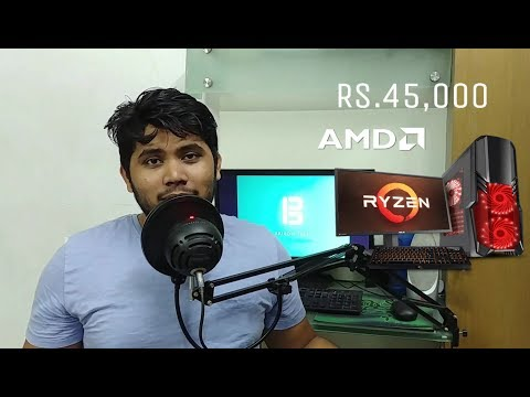 Rs.45,000 (45K) Ryzen Gaming PC build guide - TheBrironTech (India)