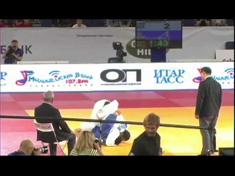 GRAND SLAM-2012 MOSKOW - 100 kg  Kostoev (RUS) -  Mahjoub (IRI)