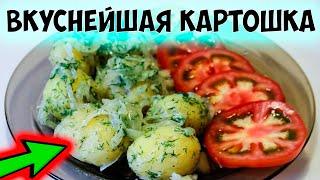 Как варить молодую картошку. Молодой картофель с зеленью и луком. Быстрый и вкусный рецепт.