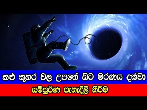 කළු කුහර වල උපතේ සිට මරණය දක්වා සම්පූර්ණ පැහැදිලි කිරීම - Everything about Black Holes
