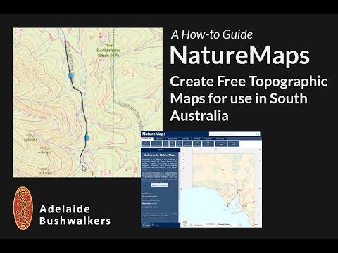 Naturemaps - Create Free Topo Maps For SA
