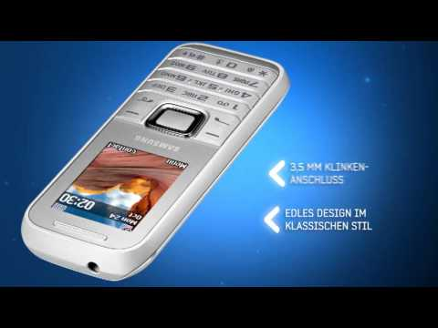 Samsung E1230 weiß Video Promo.mpg