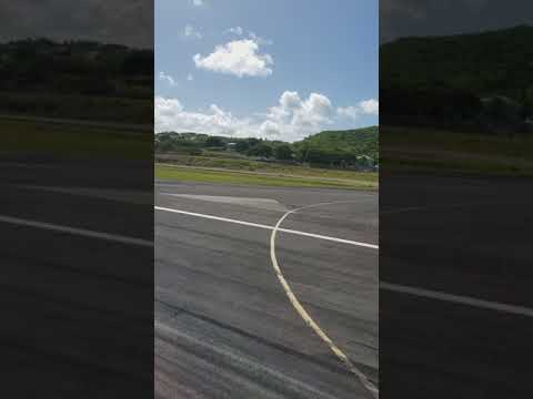 Departure from V.C. Bird International airport in Antigua 08/13/17