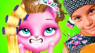КОШАЧИЙ САЛОН КРАСОТЫ смешное ВИДЕО ДЛЯ ДЕТЕЙ Новый игровой мультик детская игра TutoTOONS