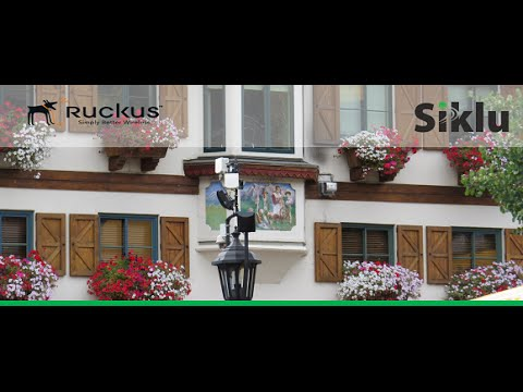 Webinar: Ruckus Siklu High Capacity Backhaul Outdoor Wi Fi Networks