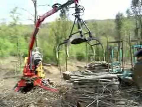 Caricatore Forestale Comaf Dalla Bona As 515 Youtube