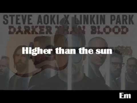 Guitar guitar tabs on screen : Linkin Park - Darker Than Blood ..Guitar Cover LYRIC and TABS on ...