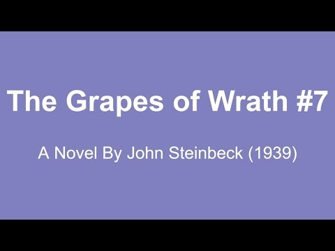 The Grapes of Wrath Audio Books - A Novel By John Steinbeck (1939) #7