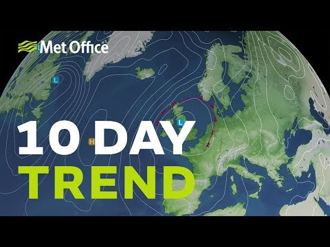 10 Day Trend – Any Drier Next Week? 16/10/19