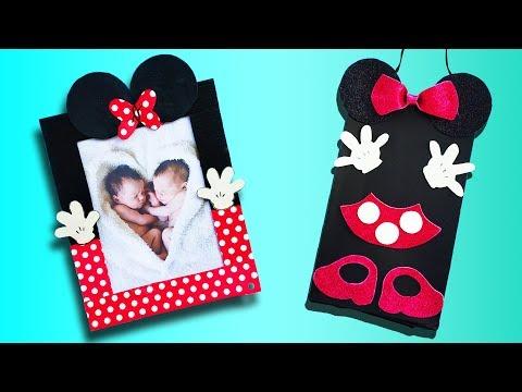 5 Cute Mickey & Minnie Crafts | Best DIY Video | 1 Minute Crafts