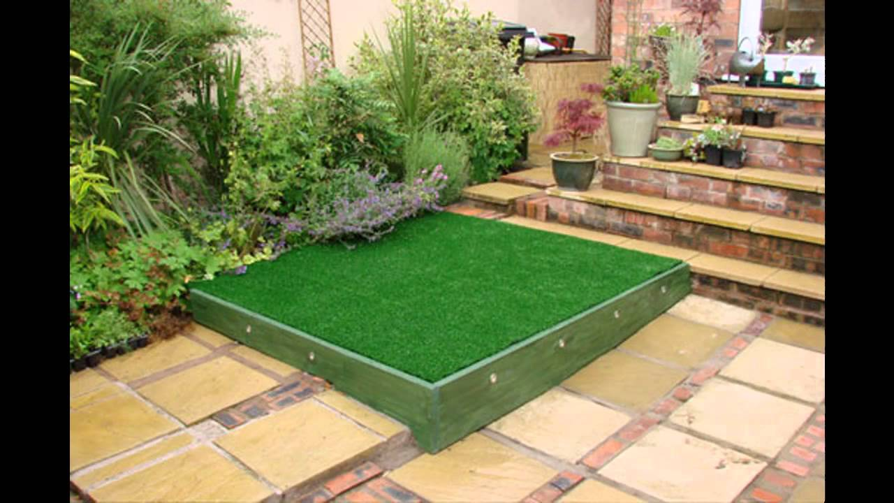 Small Square Garden Design Ideas Youtube