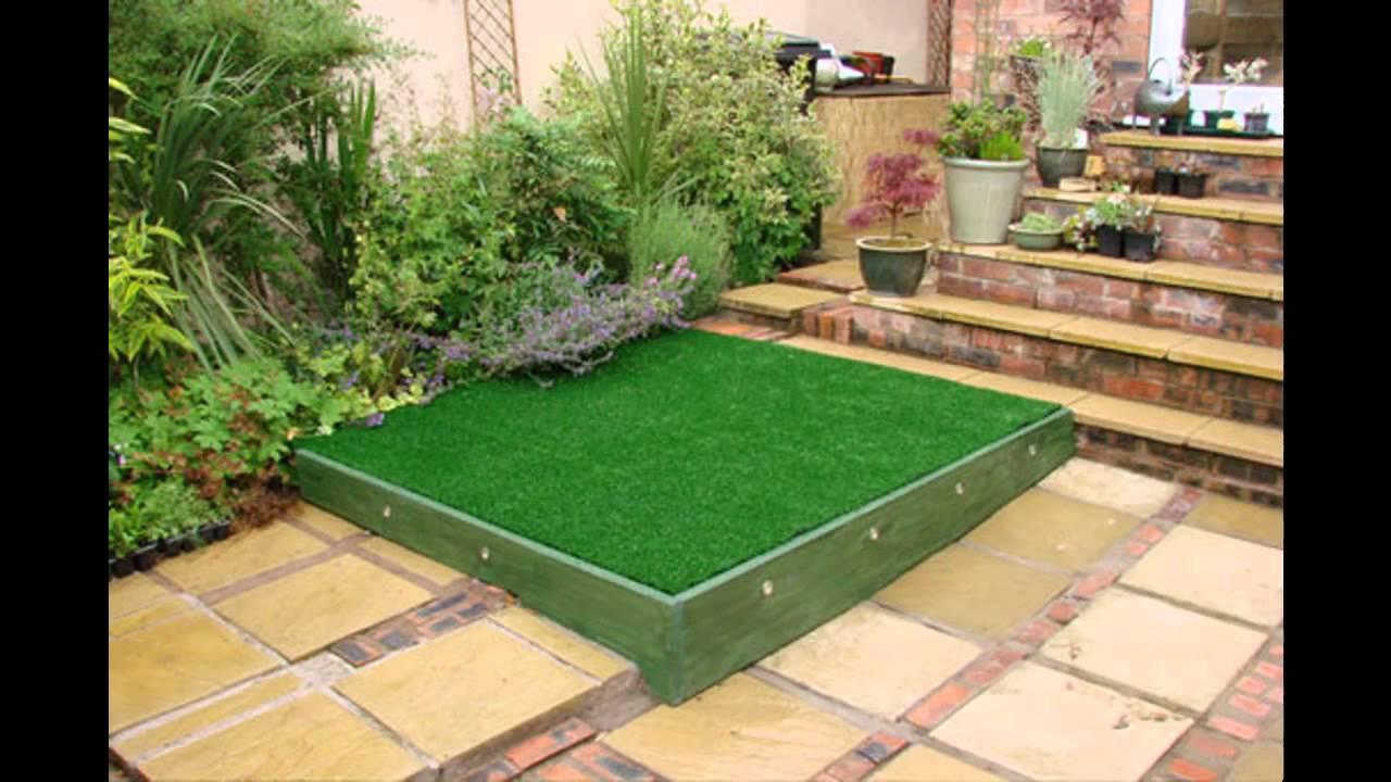 Small square garden design ideas - YouTube on Square Patio Designs id=95777