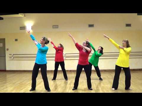 Chorégraphie flashmob (vue de face) #I GOTTA FEELING