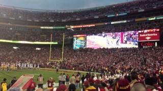 Redskins touchdown Wildcard Playoff game