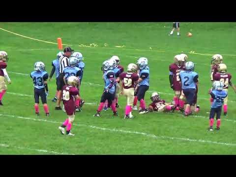 2017 Southern Dutchess Patriots 9U Football Vs Hudson Valley