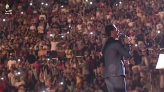 وصله فلسطينية لمحمد عساف على مدرج روابي 2019 Mohammed Assaf