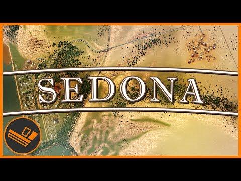Sedona - Part 2 | DESERT INDUSTRIAL (Cities: Skylines)