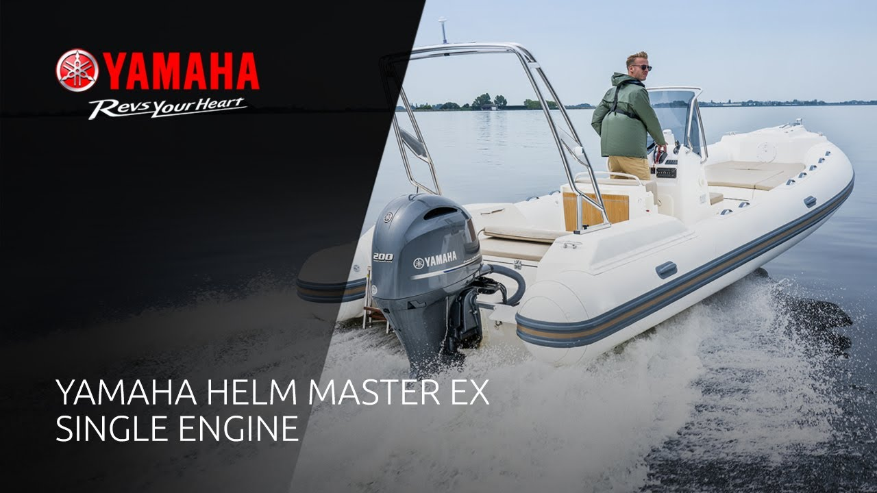 2020 New Yamaha Helm Master EX. Single Engine