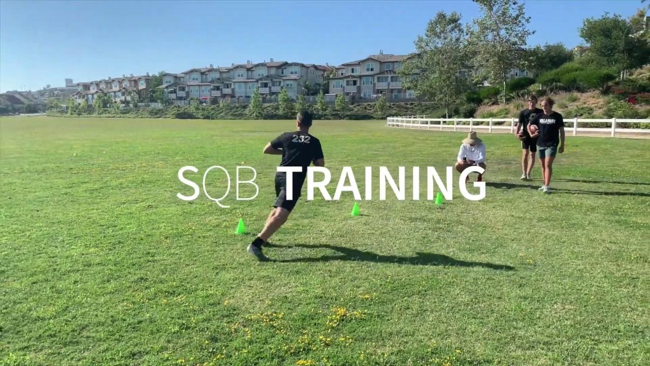 @QBfor2021 - SQB Training 5/25 with Coach Stremick