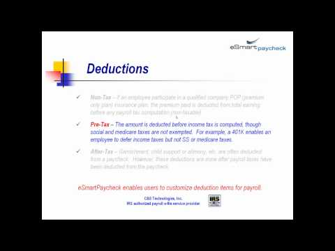 paycheck and payroll tax calculation