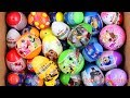 Unboxing Rainbow New Kinder Joy Surprise Eggs Toys LOL Surprise Paw Patrol Car Block for Boy & Girl