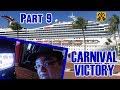 Carnival Victory Cruise Vlog 2018 - Part 9: Sea Day, Casino, Hairy Chest, Chopsticks - ParoDeeJay
