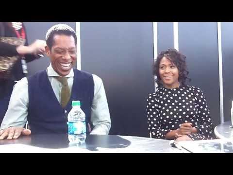 NYCC 2013 Sleepy Hollow   Orlando Jones and Nicole Beharie Part 1