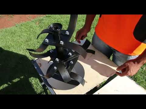 Motocultivador Husqvarna TF 338 - Montagem e Funcionamento