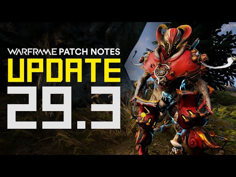 New Nightwave Episode, Nezha Prime Access, MR 30 & More! - Warframe Update 29.3 Patch Notes