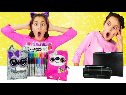 BACK TO SCHOOL SWITCH UP CHALLENGE!! Sis vs Sis
