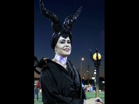 Make Maleficent S Glowing Staff Or Wizard S Wand Tutorial By Heather Bloom