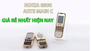 Nokia 8800 Hồng Kông Cao Cấp Super Fake Loại 1 - Đẹp Như Chính Hãng