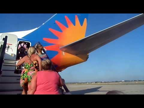 Flight Report Jet2 Holidays Boeing 737 Reus-London Stansted full flight 19/6/17