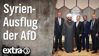Christian Ehring zum Syrien-Ausflug der AfD