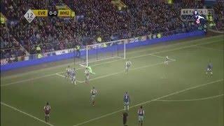 Everton vs West Ham United 2 - 3  2016 ~All Goals & Highlights (Premier League 5 March 2016)