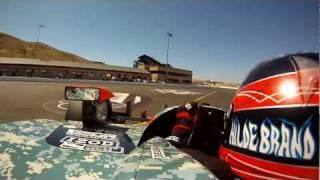 GoPro HD: JR Hildebrand Lap – Infineon Raceway