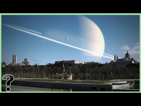 What If The Moon Was Replaced By Saturn?