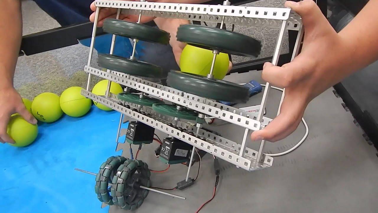 How Does A Torque Converter Work >> VEX - 4149G Flywheel Test Shooting - Nothing But Net | FunnyDog.TV