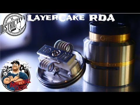 LayerCake RDA 🍰 {CSMNT V2} by District F5ve Review & Build | AmbitionZ VapeR
