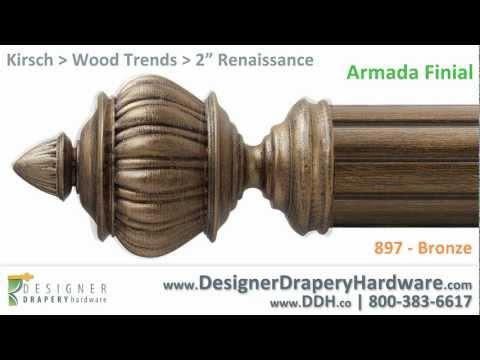 Kirsch Drapery Hardware - Armada Renaissance Finial