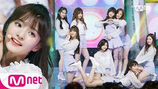 [fromis_9 - PITAPAT(DKDK)] KPOP TV Show | M COUNTDOWN 180614 EP.574