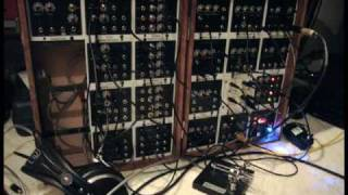 FIRST PRODUCTION MATTSON MINI MODULAR SYNTH DEMO MINUET IN A MINOR