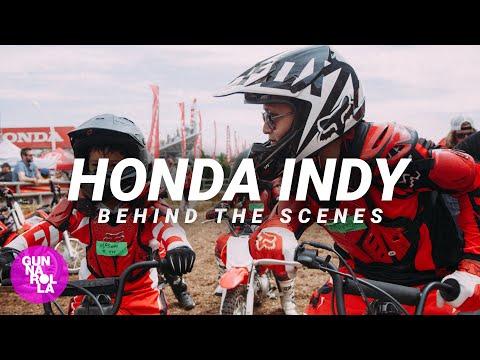 James Hinchcliffe & Gunnarolla at the Honda Indy 2016